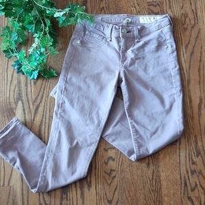 - RAG & BONE mauve zipper capri jeans